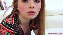 ดูหนังโป๊ฟรีสาวฝรั่งสุดน่ารักมานั่งอมควยอันใหญ่แล้วหน้าเธอฟินเอามากๆ
