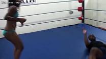 13345 Black on Black Violence Femdom Mixed Wrestling preview