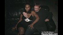 Black College Chick Gangbang in Porno Theater Vorschaubild