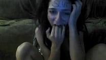 whore Alexandra Mihaylovska slapping her filthy...