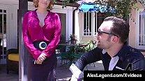 House Huntress Krissy Lynn Fucks Her Customer Alex Legend! image