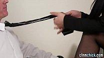 Cfnm dominas give head thumbnail