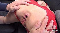 OMG! Huge cock blows Mary's butt hole! Vorschaubild