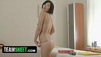 RubATeen Sexy Japanese teen Jade massage parlour fucked
