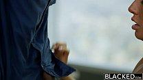 BLACKED New York Escort Tiffany Brookes Gets Facial From Big Black Cock thumbnail