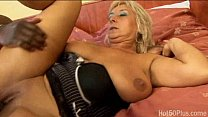 busty blonde mature fridus (erika) banged by black cock, grannie cinema thumbnail