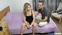 Tiffaine, timide blonde de 19 ans, cache bien son jeu [Full Video] thumbnail