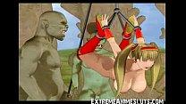3D Ogres Bang a Teen! image