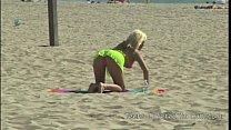 Peter North Picks Up a Blond Beach Bimbo