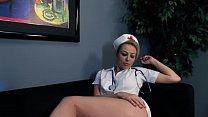 Nurse Adrianna Nicole Fucks Before Work