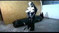 Fetish Nun In Latex Has Solo Sex