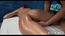 Hot 18 year old dark brown slut gets screwed hard by her massage therapist!