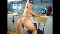Hot sexydea playing on live webcam