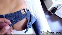 Chica virgen tiene sexo con ropa preview image