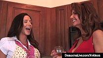 Texas Cougar Deauxma & Colombian Ariella Ferrera Share BBC! thumbnail