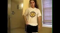 Hot Sporty Teen Strips - Sleezycams.com