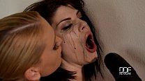 BDSM Dominatrix Kathia Nobili rocks her slave girl Preview