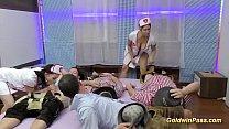 Nurses in lederhosen gangbang orgy pornhub video
