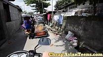 フィリピンの売春婦 Picking up 18 yo pinay with perfectly slim body / CheapAsianTeens.com thumbnail