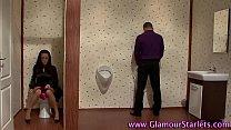 Busty clothed slut tugs pornhub video