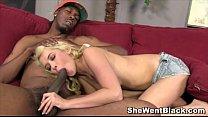 Cute Blonde Teen Tiffany Fox Interracial Porn