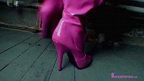 Briella Pink Boots