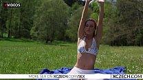 Alexis Crystal - Czech Teen Nude Yoga - Xczech.com