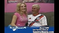 Newbie Porn Star Ally Ann's Squirt Alley!