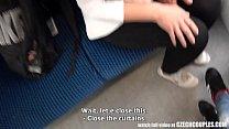Foursome Sex in Public TRAIN