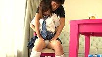 Amazing porn play with young doll Miku Airi thumbnail