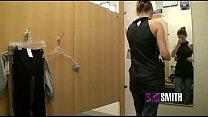 Big Tit Teen Masturbates in Dressing Room thumbnail