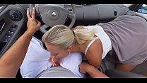 [HoliVR] Car Sex Adventure 100% Driving FUCK experience   360 VR Porn Vorschaubild