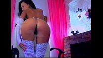 Beautiful webcam girl IbizaSunrise fucking her perfect pussy with her dildo pornhub video