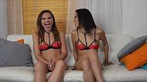 Maya Bijou and Naudi Nala Interview before Threesome Scene Vorschaubild