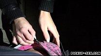 Hot amateur brunette Eurobabe Carla Cross banged for cash thumbnail