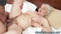 Fuzzy granny jizz mouthed Vorschaubild