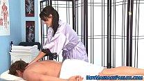 Massage babe fingered