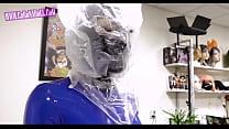 gas mask Rubber latex Breath Play