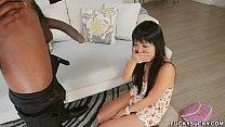 Shy Asian Amazed at Black Cock pornhub video