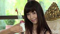 Asian Cosplay Pornstar Marica Hase Rubs Her Hai...