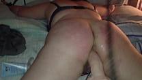Bad girl being punished