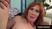 Mature Redhead Freya Fantasia Sucks on a Boner and Then Fucks It preview image