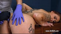 1-Extremely hardcore BDSM rope sex with chocolatehole action -2015-10-07-04-16-022