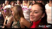 Drunk cheeks engulfing schlong in club porn image