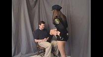 officer lydia ball kicking