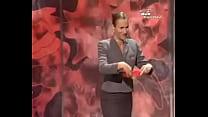 French Magician makes napkin disappear thumbnail