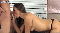 Two horny newcomers cum in Mea Melone's sweet pussy