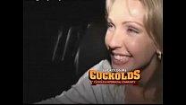 Watch this sexy slut suck his big black cock