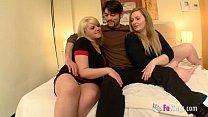 Blonde cousins introducing the guy they started having sex with Vorschaubild