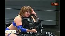 asuka wwe strips opponent